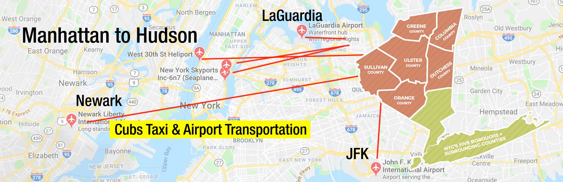 Manhattan Airport Transportation