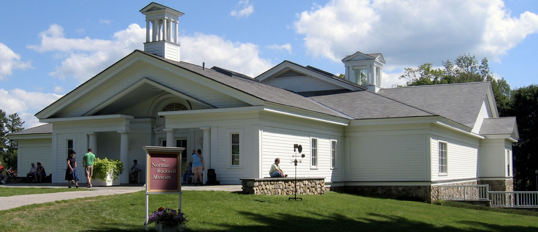 Norman Rockwell Museum minutes from Kripalu Center transportation